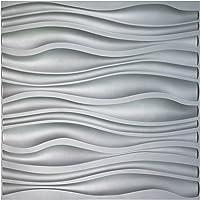 3d wall panels for sale waterproof pvc wall art3d pvc wave board textured 3d wall panels grey 197 amazon best sellers panels