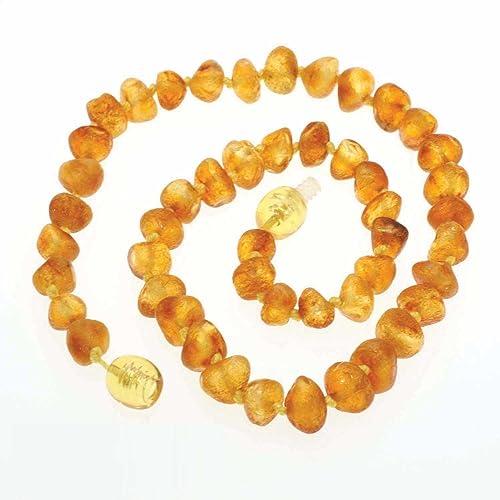 Amazon Com Raw Healing Amber Teething Baby Necklace 100 Certified
