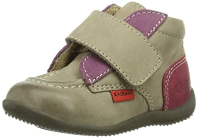 Kickers Bono, Chaussures premiers pas bébé fille
