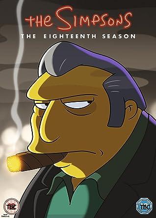 Amazon Com The Simpsons The Eighteenth Season Dvd Movies Tv