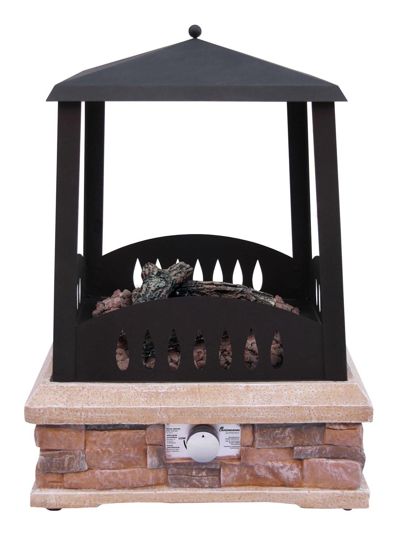 amazon com landmann 22812 grandview outdoor gas fireplace
