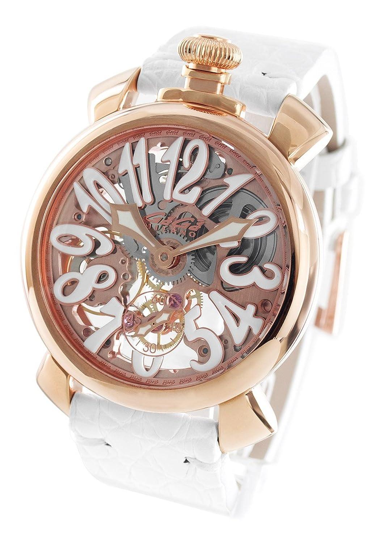 ガガミラノ マヌアーレ48MM スケルトン 腕時計 メンズ GaGa MILANO 5311.01[並行輸入品] B0759HL5FK