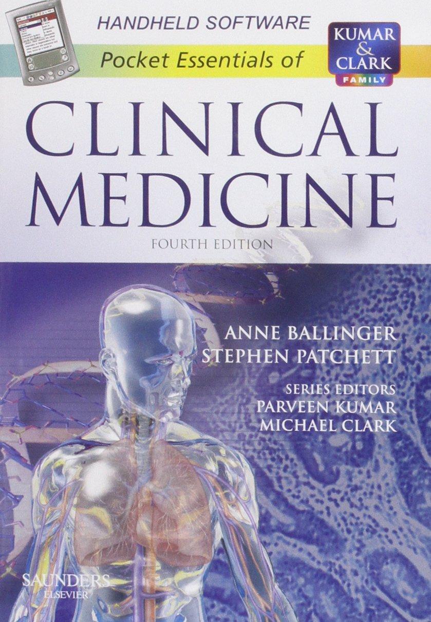 Pocket Essentials Of Clinical Medicine Cd Rom 4e Amazon