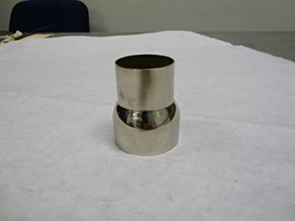 """3.5/"""" Transitional Exhaust Pipe Adapter OBX Stainless Steel Universal 2.5/"""""""