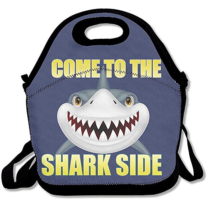 abb0ec64fe1c Amazon.com - Starboston Come to The Shark Side Lunch Boxes, Handy ...