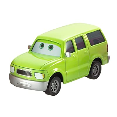 Disney Pixar Cars Die-cast Oversized Charlie Cargo Vehicle: Toys & Games