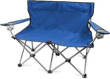 De 2 plazas silla de camping doble silla plegable camping ...