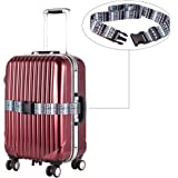 Luggage Strap Belt ,SINOKAL Buckle Strap Colorful Luggage Straps Suitcase Belts Flexible Poyester Packing Straps