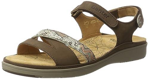 Womens Gina-g Sandals, Mocca-Stone Ganter