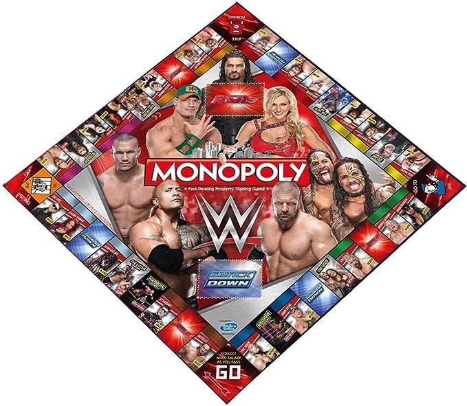 WWE Monopolio Juego de Tablero (versión en inglés): Amazon.es: Juguetes y juegos