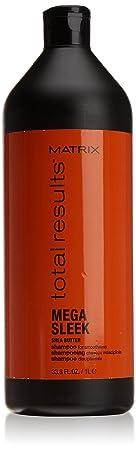 Matrix Total Results Mega Sleek Shampoo 1000 ml Shampoo für Geschmeidigkeit und Kontrolle von rebellischem Haar