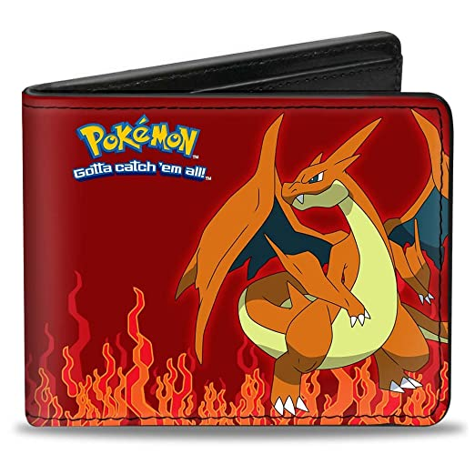 Amazoncom Buckle Down Buckle Down Bifold Wallet Pokemon Accessory