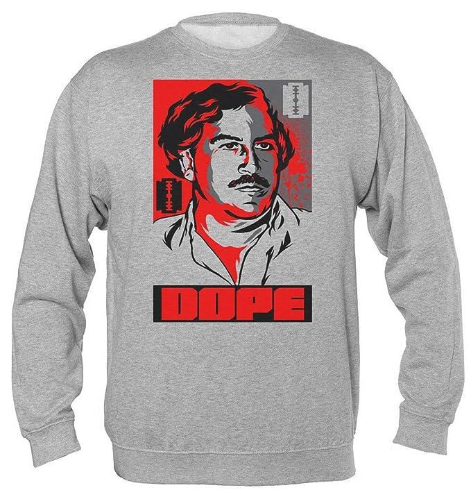 Pablo Escobar Dope Poster Bloody Sudadera Unisex: Amazon.es: Ropa y accesorios