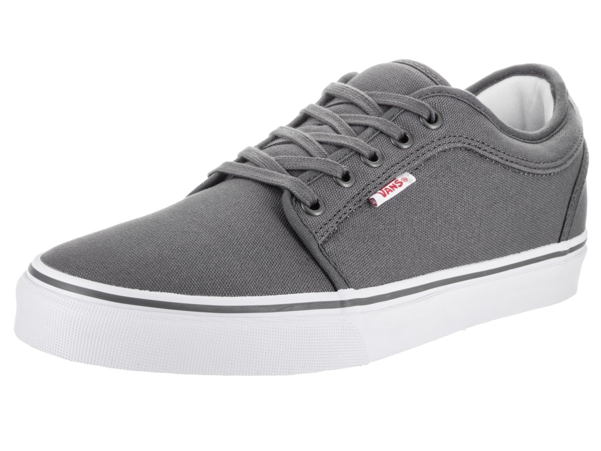 Vans Men's Chukka Low Medium / 9 D(M) US|Pewter/Red/White