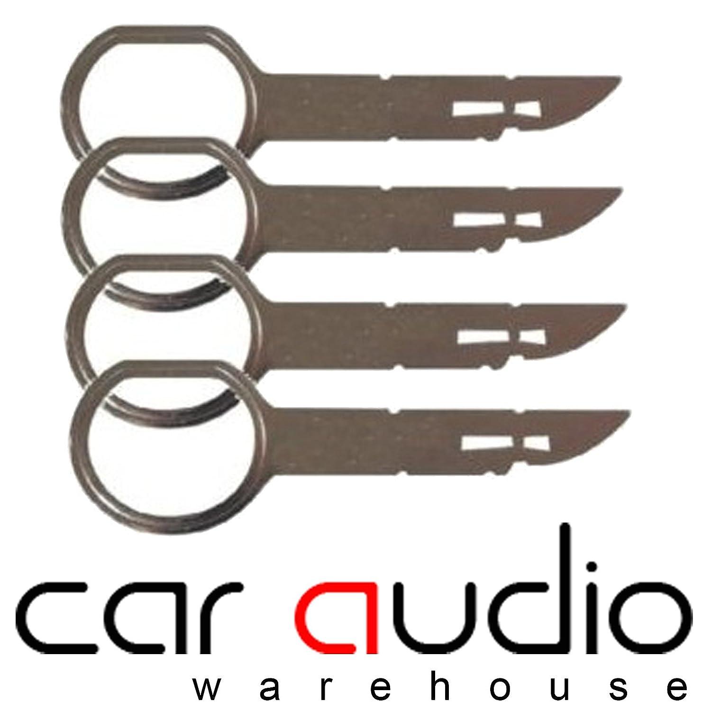Audi A2,A3,A4,A6,A8 Radio/Headunit/Sat Nav Removal Keys for Concert,  Symphony, Chorus, RNS-E Navigation