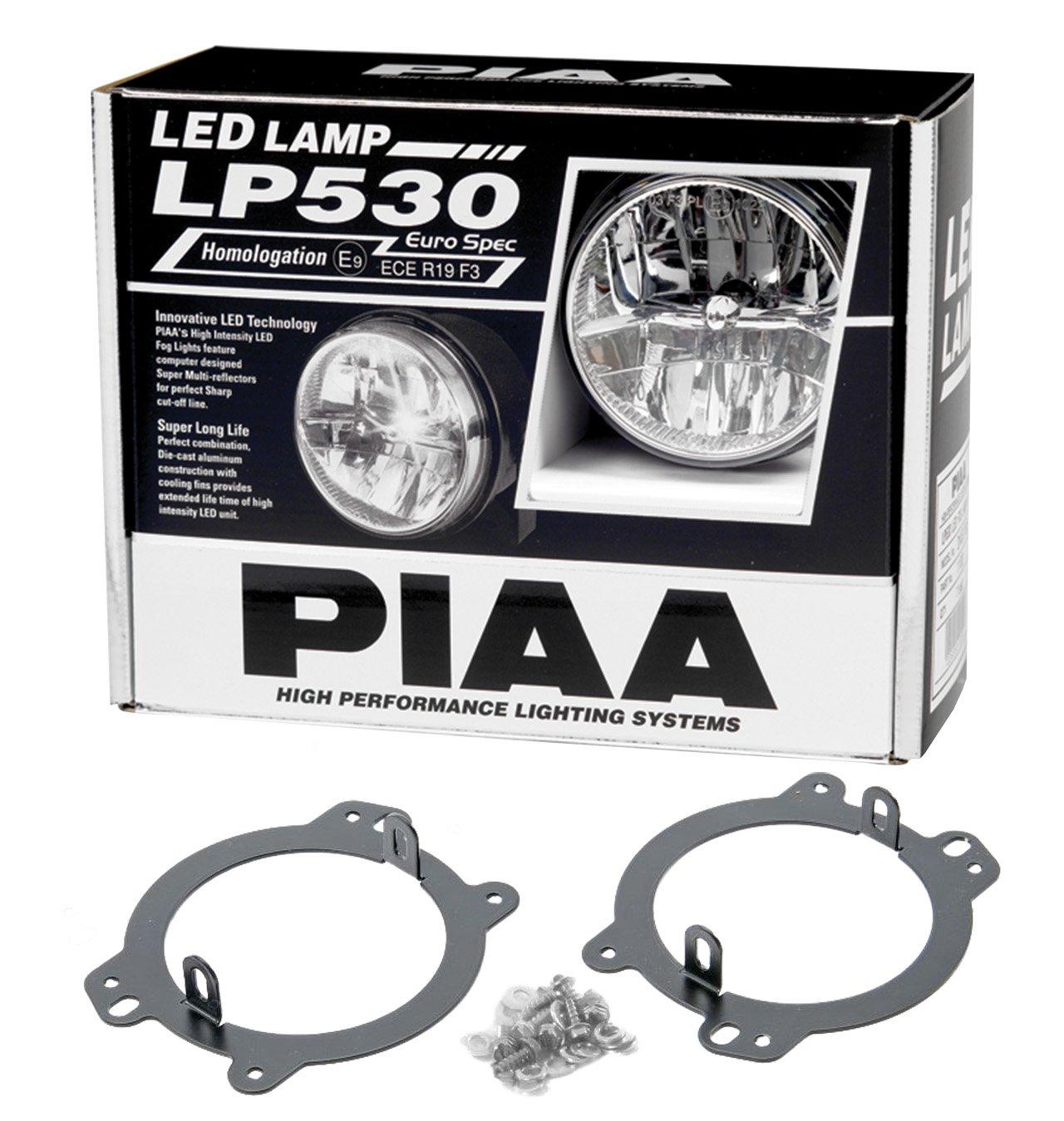 Amazon.com: PIAA 05332 Jeep Wrangler JK 2010+ LP530 LED Driving Light VSK  For OEM Location: Automotive