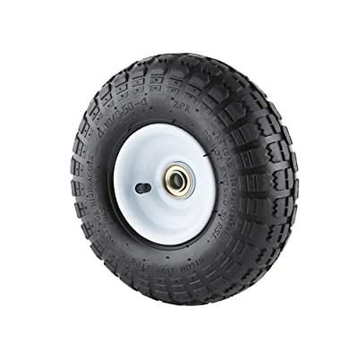 Farm & Ranch FR1055 10-Inch Pneumatic Replacement Turf Tire for Hand Trucks and Lawn Carts : Garden & Outdoor [5Bkhe2003862]