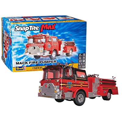 Revell SnapTite Max Mack Fire Pumper Model Kit: Toys & Games