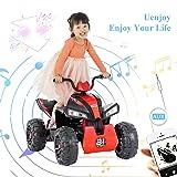 Uenjoy 12V Kids ATV 4 Wheeler Ride On Quad
