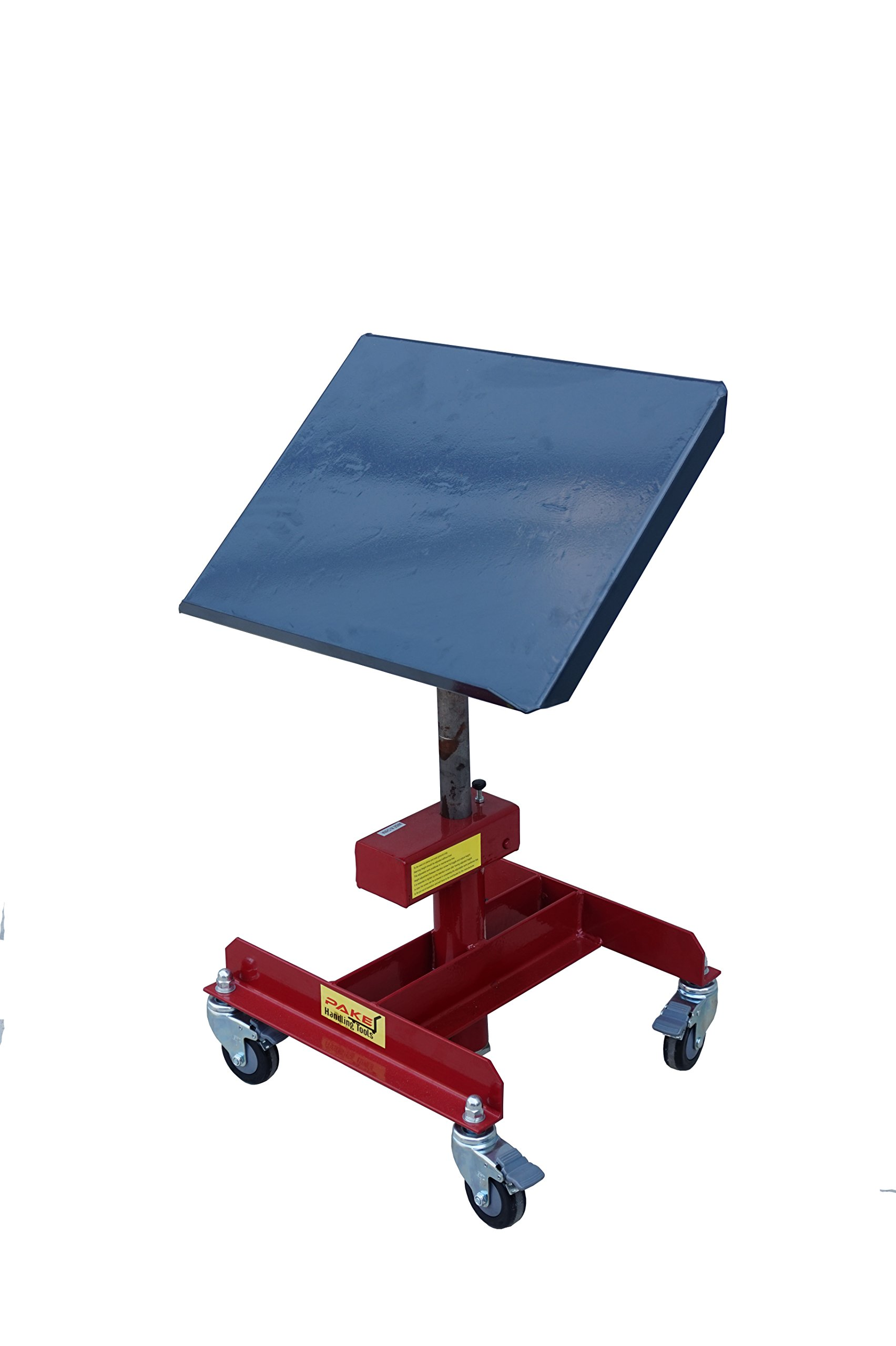 Pake Handling Tools - Tilting Work Table, 20 X 16'', 20 to 28'' Height, 330 lb. Load Capacity, 40 Degrees Tilting Angle