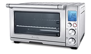 Breville BOV800CRNXL Smart Oven 1800-Watt Convection Toaster Oven with Element IQ,Silver
