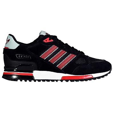 hochwertiger herren adidas zx 750 marine blau weiß schwarz