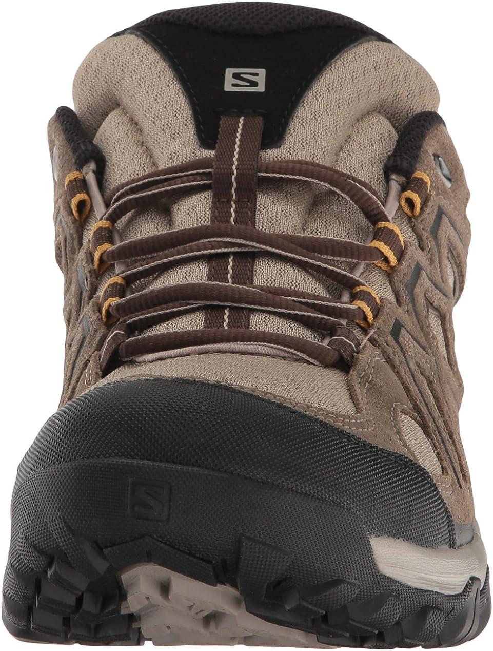 Salomon EVASION 2 AERO, Chaussures de Randonnée Basses Homme Noir (BlackMagnetAlloy), 42 EU