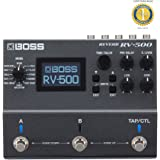 Boss RV-500 Reverb Multi-effects Pedal with 1 Year EverythingMusic Extended Warranty Free