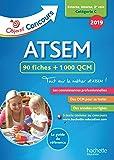 Objectif Concours 2019 ATSEM 90 Fiches 1000 QCM