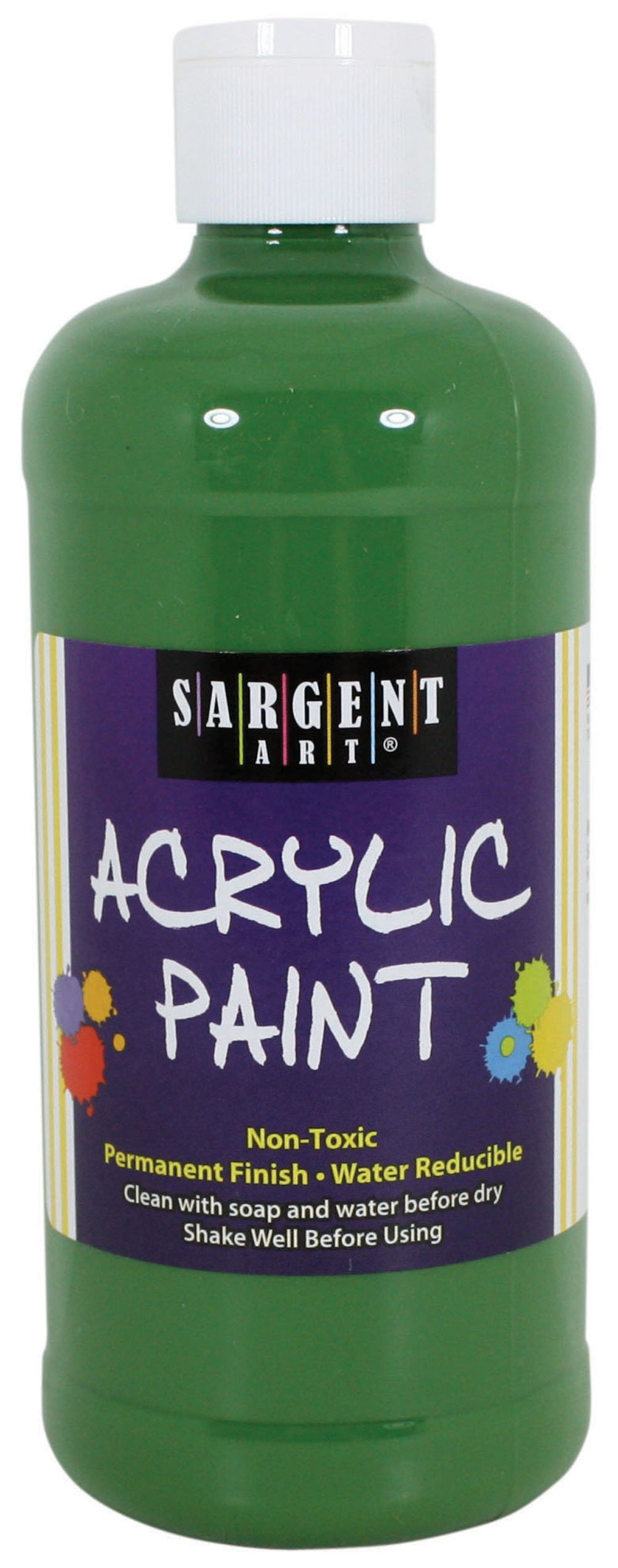 Sargent Art 24-2469 16-Ounce Acrylic Paint, Green Oxide