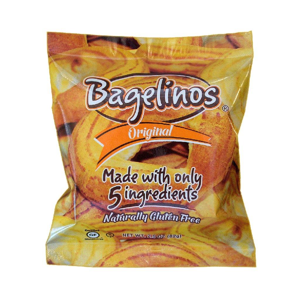 Bagelinos Original Bagel, Gluten-Free, 2.9 OZ each, Box of 18 by Bagelinos