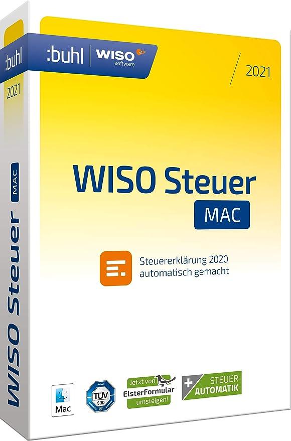 WISO Steuer-Mac 2021 (für Steuerjahr 2020 | frustfreie ...