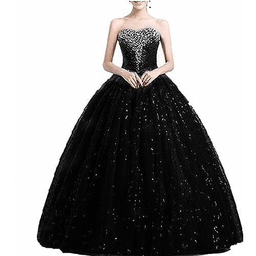 Women\'s Black Ball Gowns: Amazon.co.uk