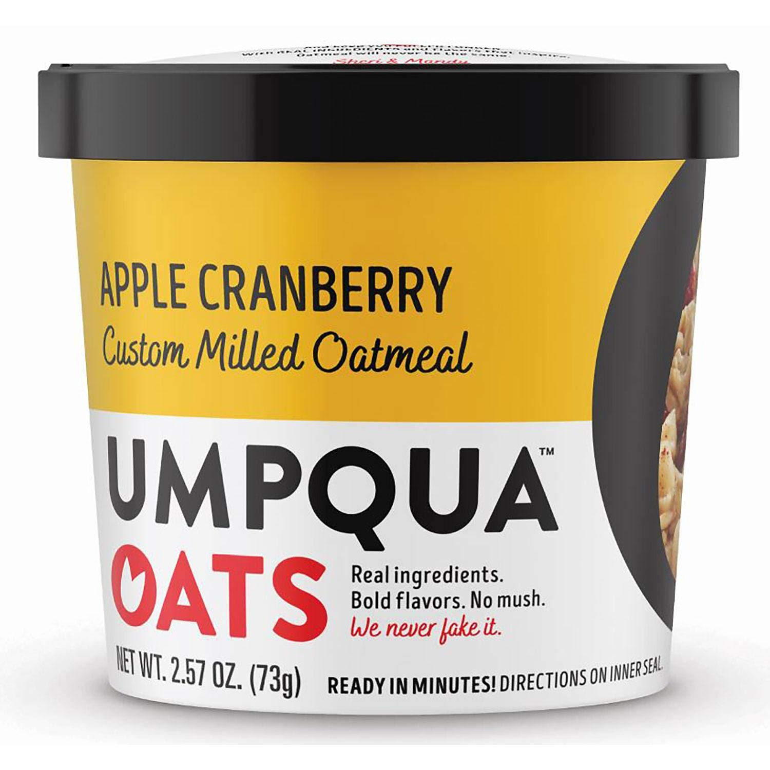 Evaxo Mostly Sunny Apple Cranberry Cinnamon Oatmeal (2.54 oz., 12 ct.)