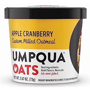 Evaxo Mostly Sunny Apple Cranberry Cinnamon Oatmeal (2.54 oz., 12 ct.)
