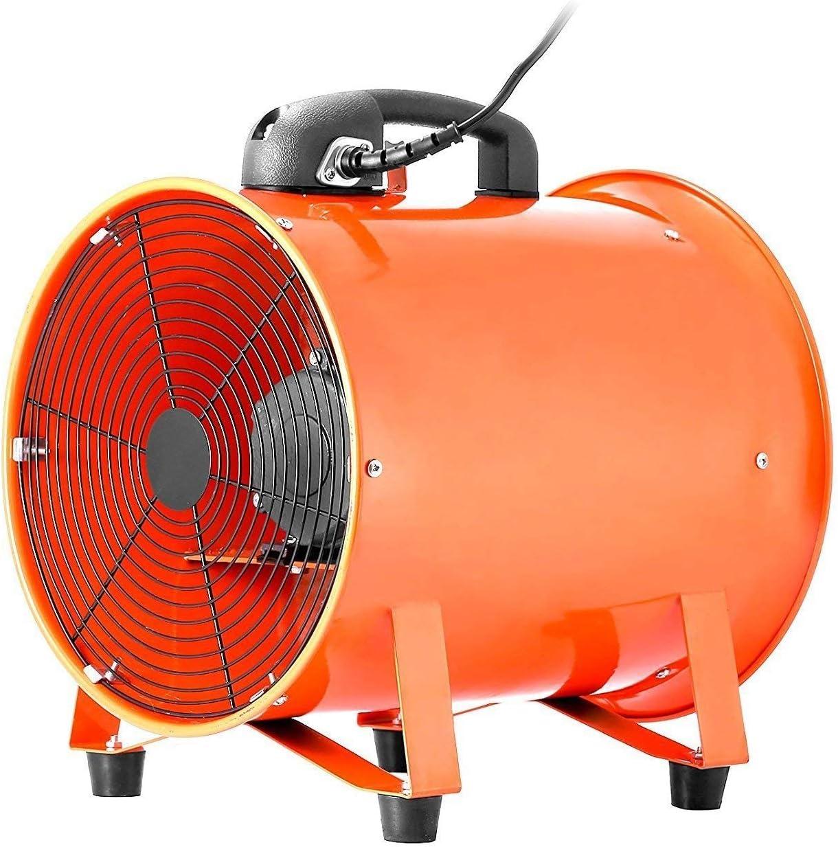 Mophorn Ventilador Profesional para Construcción 250mm Ventilador ...
