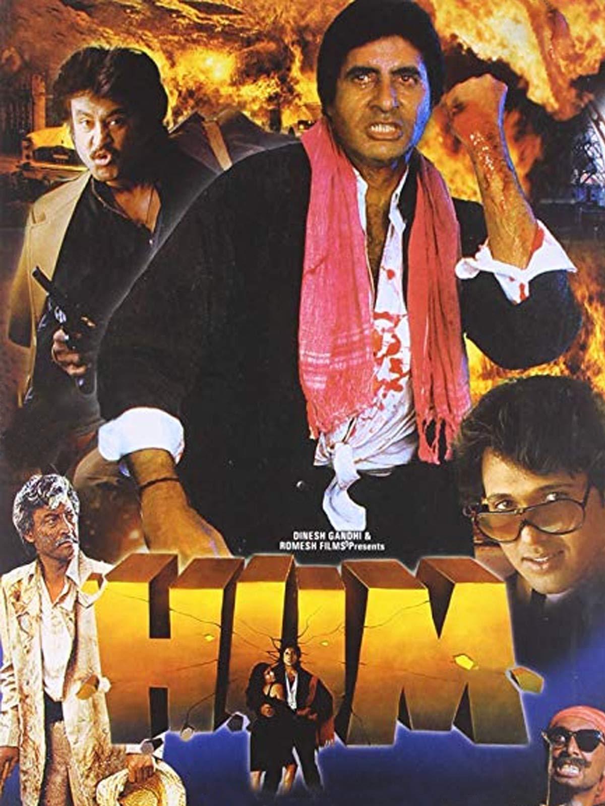 Hum 1991 Hindi 720p HEVC HDRip x265 AAC ESubs Full Bollywood Movie [850MB]
