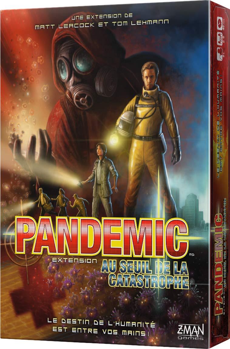 Asmodée Pandemic-Ext. Au Seuil de la Catastrophe, ZMPA02FR, Jeu Coopératif Jeu Coopératif Asmodee
