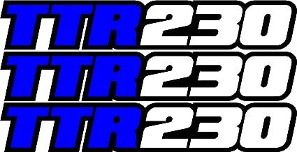 TTR125 Swingarm Airbox Decals Sticker TTR 125 Dirtbike Racing MX graphics atv