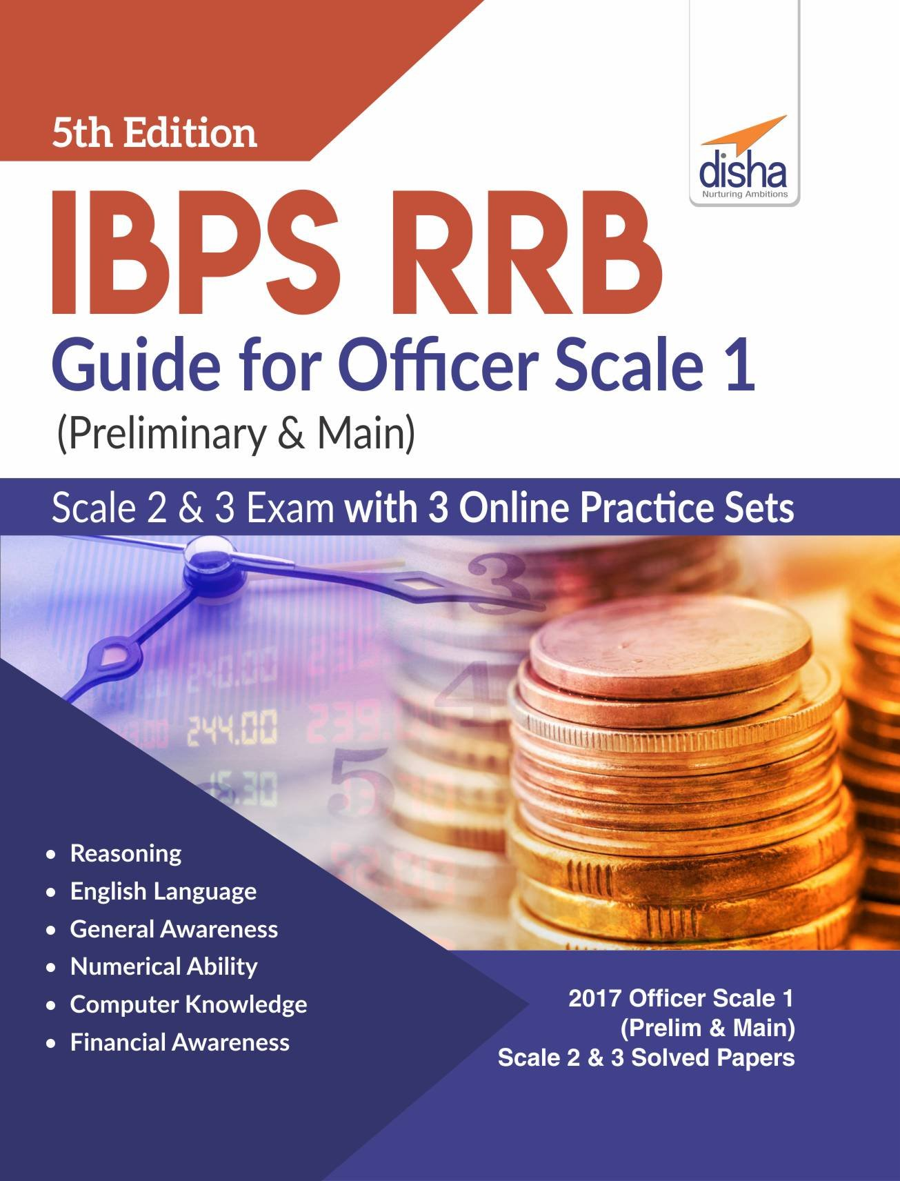 IBPS RRB Guide for Officer Scale 1 Preliminary & Main , 2 & 3 Exam with 3  Online Practice Sets: Amazon.in: Disha Experts: Books