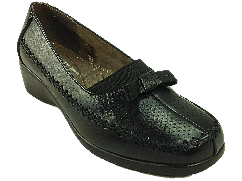Cushion Walk - Mocasines chica mujer , color negro, talla 36.5: Amazon.es: Zapatos y complementos