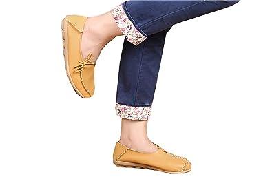Women Denim Flat Slip On Pumps Shoes Loafers Sandals Ladies Moccasins Shoes Size