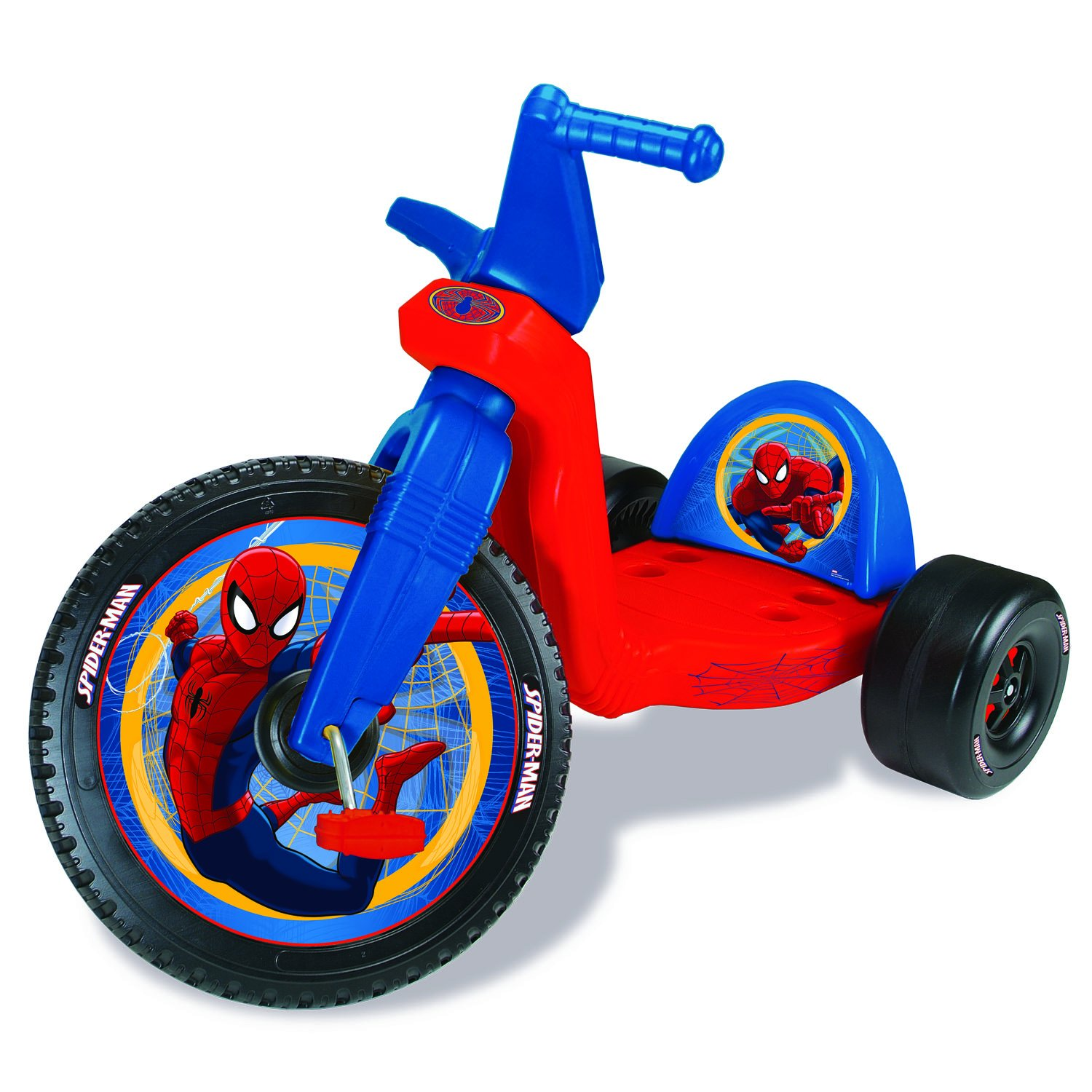 Amazon Com Disney Big Wheel 16 Spiderman Ride On Toys Games