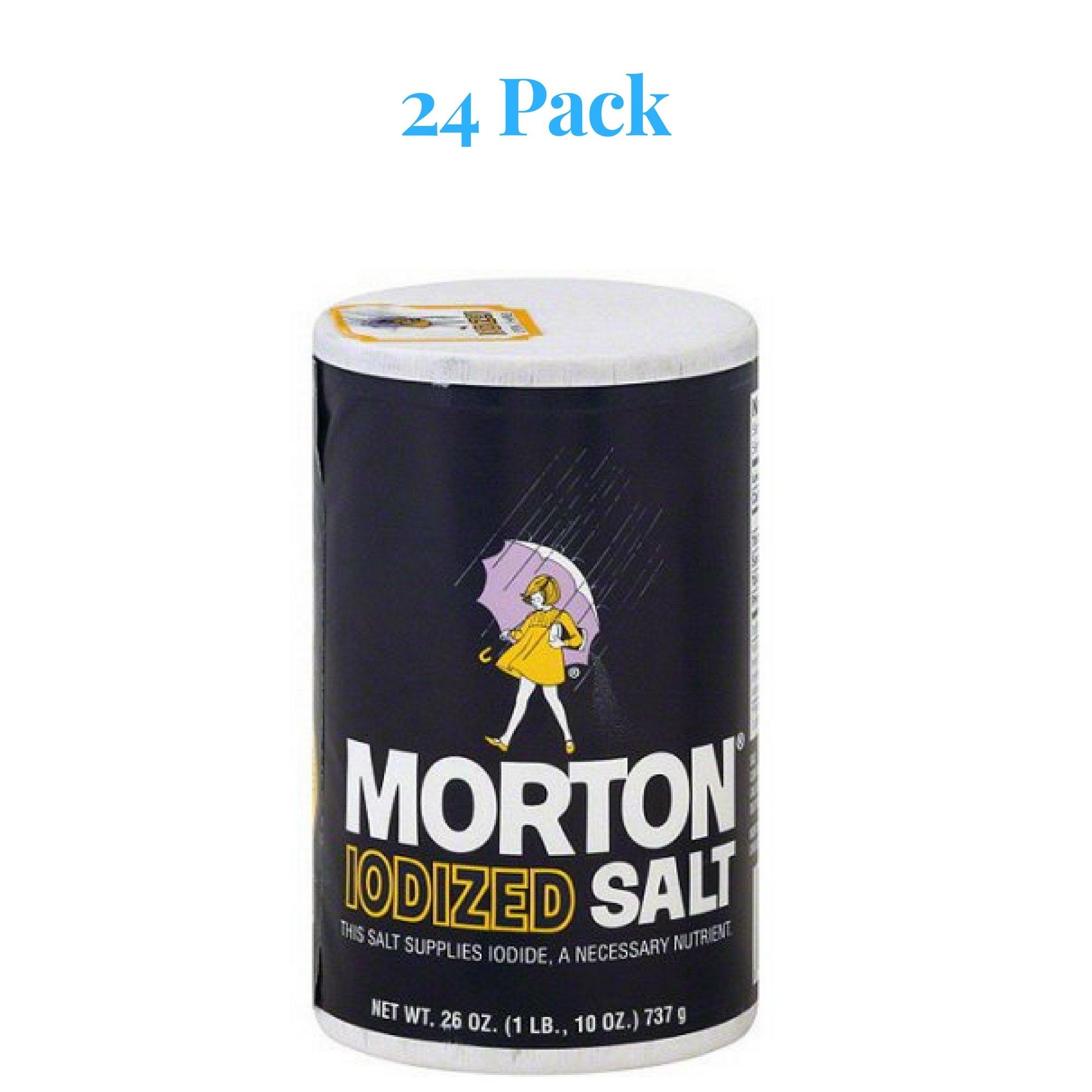 Morton Iodized Salt, 26 oz by Morton