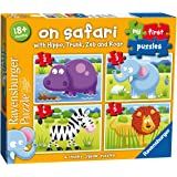 Ravensburger 7301 My First Puzzle On Safari Jigsaw Puzzles - 2, 3, 4 and 5 Pieces