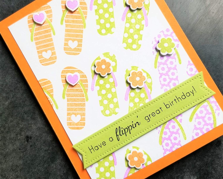 Funny Birthday Card Summer B-Day Greeting Card