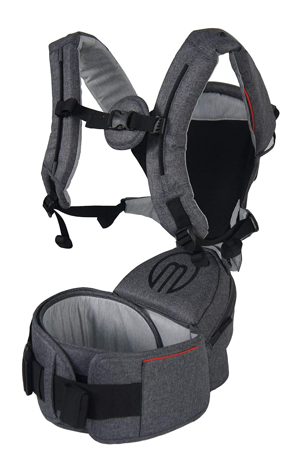 MiaMily Hipster Smart Ergonomic Baby Child Carrier Baby Hiking Backpack with Built-in 3D Hip Seat for Toddlers or Infants