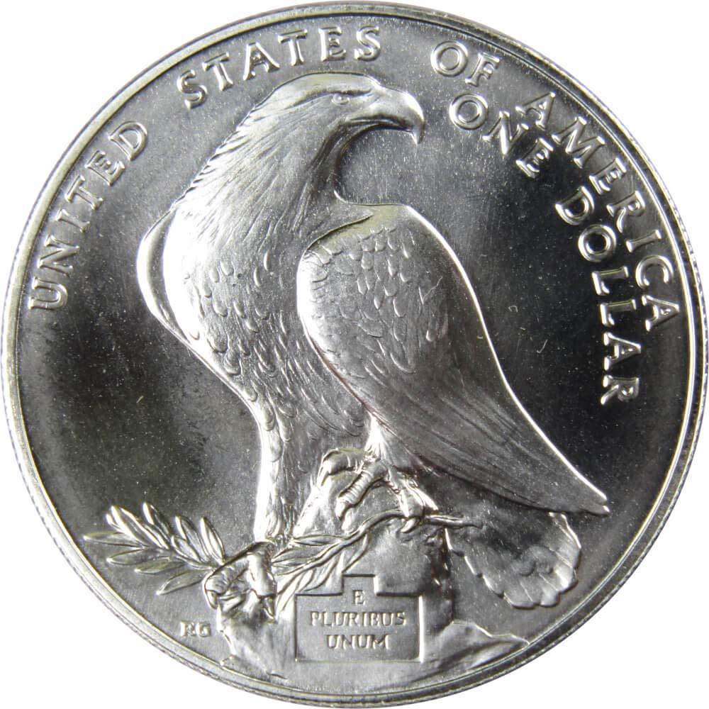 1984 P $1 LA Olympiad Coliseum Commemorative Silver Dollar Choice Uncirculated