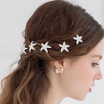 Crystal Wedding Bridal Bridesmaid Hair Pins Grips Jewellery UK Stock