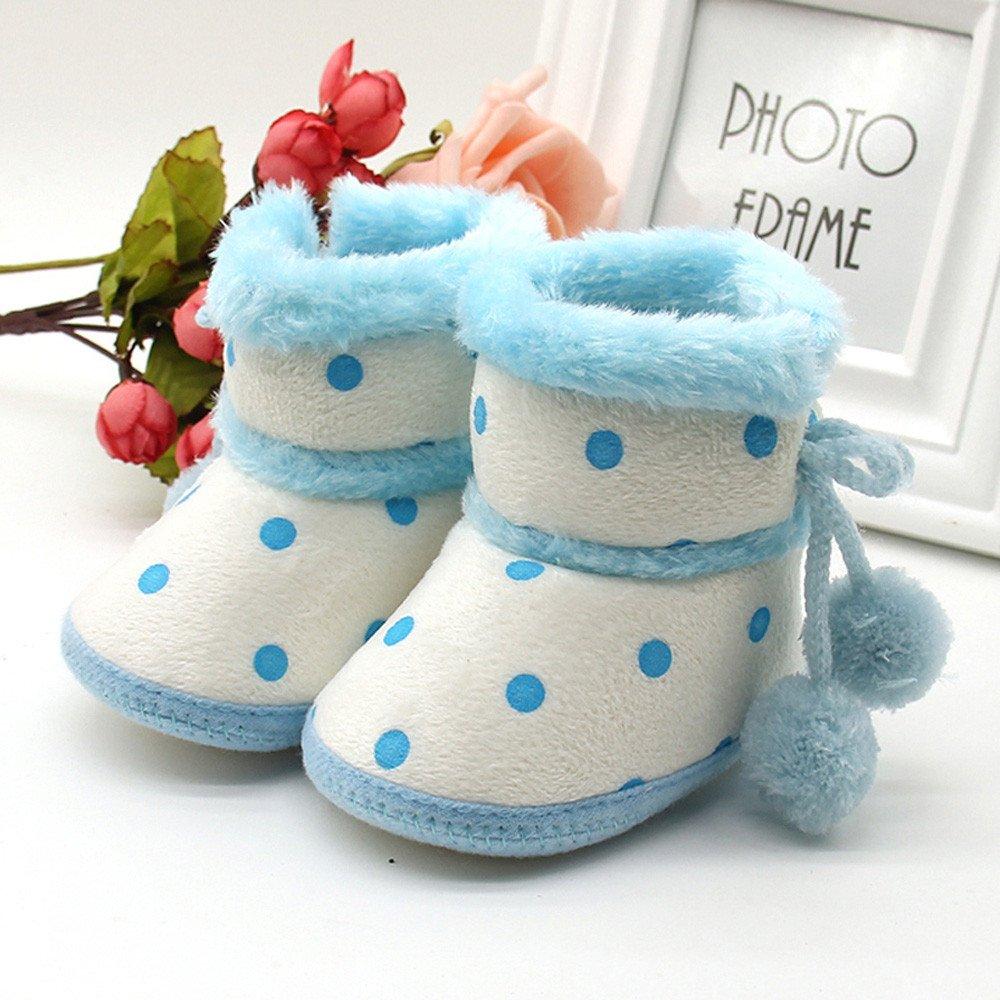 Winterschuhe Heligen Babyschuhe M/ädchen Jungen weiche Booties Schn/ür Schnee Stiefel Kleinkind Neugeborenen Erw/ärmung Schuhe